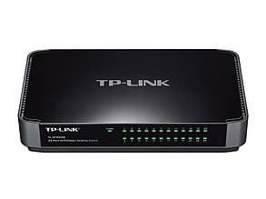 Комутатор TP-LINK TL-SF1024M (24-port 10/100 Мбіт, пластик)