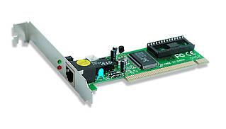 Сетевой адаптер Gembird Fast Ethernet 10/100Mbit Realtek (NIC-R1)