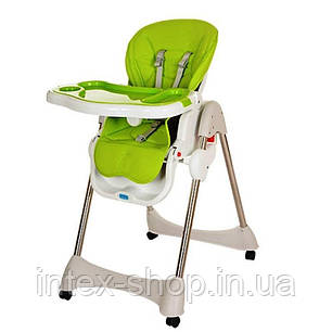 Детский стульчик для кормления Bambi (M 3216-2-5) ЗЕЛЕНЫЙ, фото 2