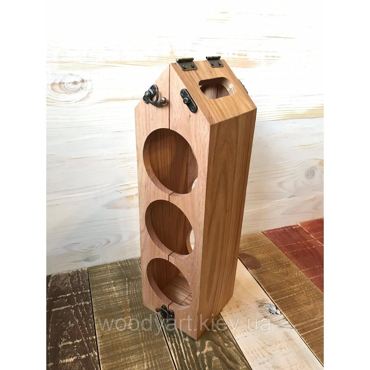 Подарочная коробка для бутылки, 11,5*11,5*38 см