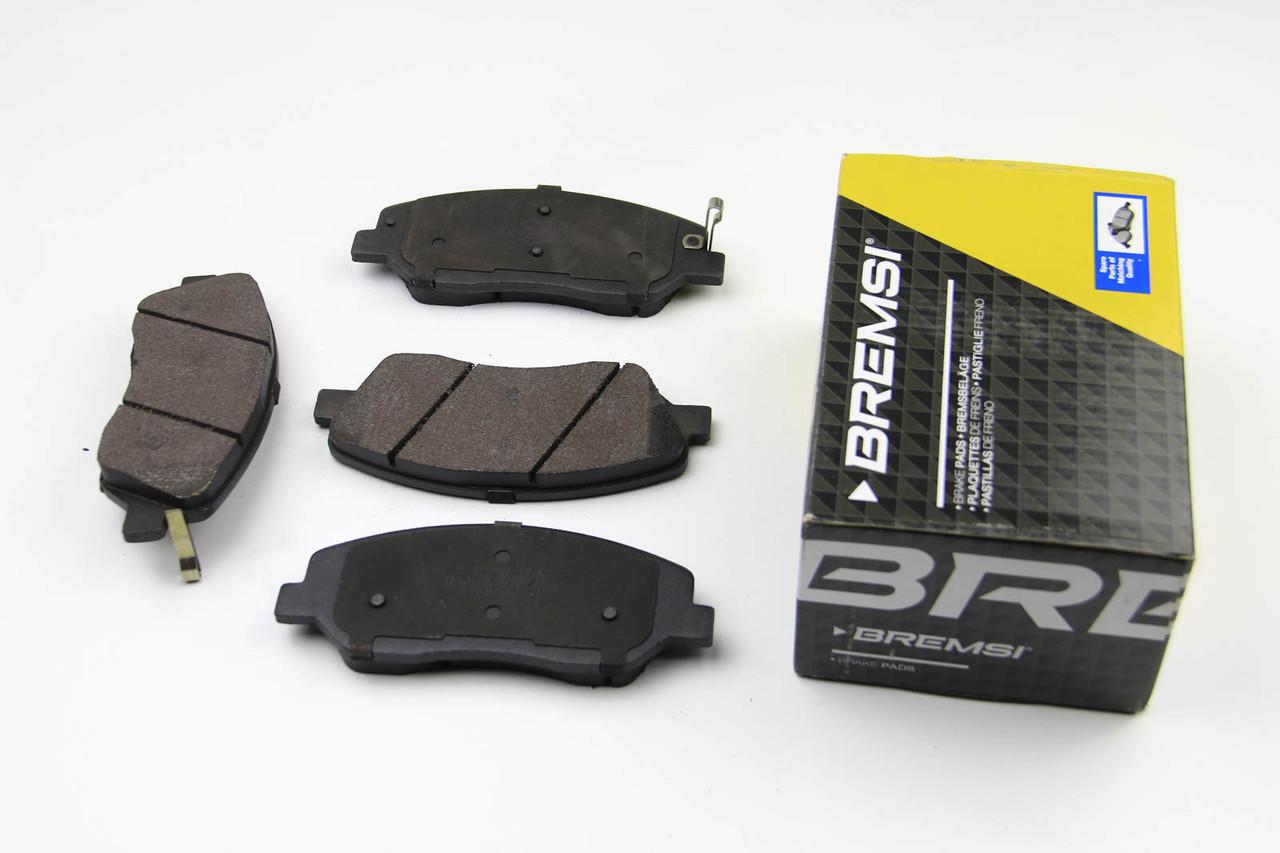 Колодки тормозные передние Hyundai Santa FE 2012-