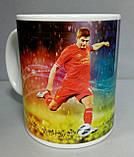 Футбольна Чашка чайна з зображенням символіки FC Liverpool, фото 2