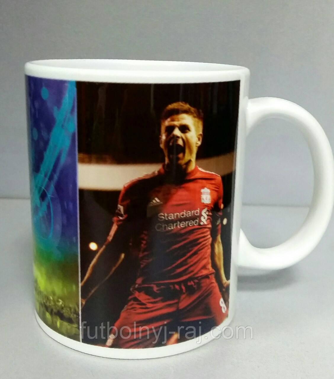 Футбольна Чашка чайна з зображенням символіки FC Liverpool