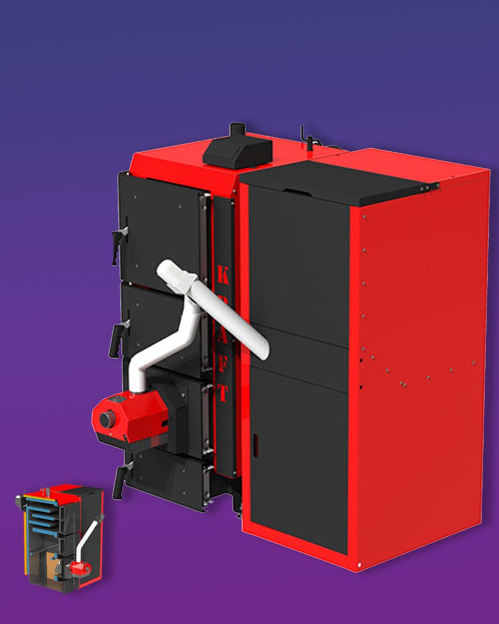 Пелетний котел KRAFT F 20 кВт