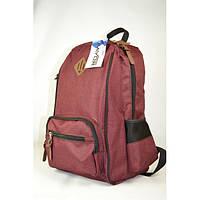 Рюкзак городской Favor 972-08-бордовый, фото 1