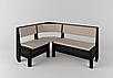 Кухонный уголок+стол+табуретки Тунис Летро, фото 3