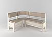 Кухонный уголок+стол+табуретки Тунис Летро, фото 5