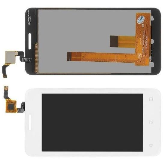 Дисплей модуль Fly FS407 Stratus 6 в зборі з тачскріном, білий