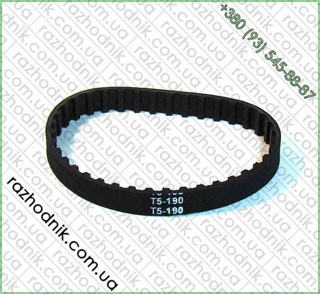 Ремень зубчатый T5-190, фото 2