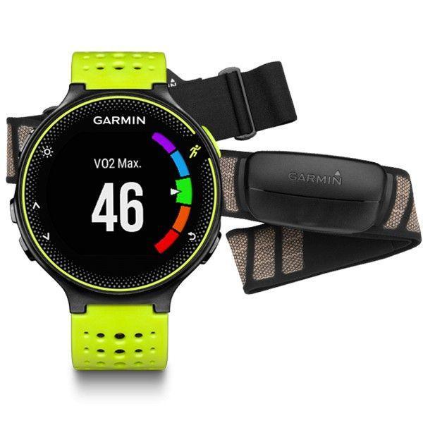Беговые часы Garmin Forerunner 230, GPS, EU, Yellow & Black