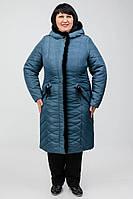 Зимний плащ Лучезара больших размеров 50-60