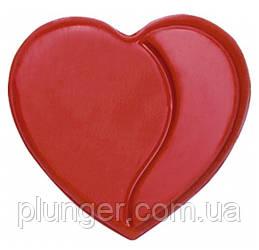 Шоколадний декор для кондитерських виробів Сердечка