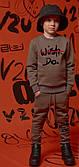 Теплый комплект для мальчика на флисе Oven САДОР (р.104)