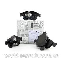 Комплект передних тормозных колодок на Рено Каптюр / Renault ORIGINAL 410600379R