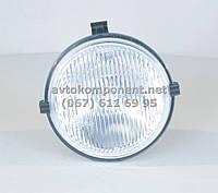 Фара противотуманная МТЗ кругл. галогеновая лампа (бел. стекло) (производство Украина) (арт. ФПГ-117), AAHZX