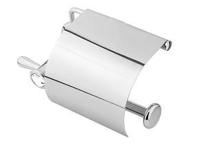 Держатель для туалетной бумаги KUGU Bavaria 311C (латунь, хром)(Бесплатная доставка  ), фото 3