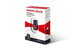 Беспроводной адаптер Mercusys MW300UM (N300, USB), фото 2