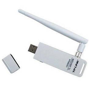 Беспроводной адаптер TP-Link TL-WN722N (150Mbps, USB, внешняя антенна), фото 2