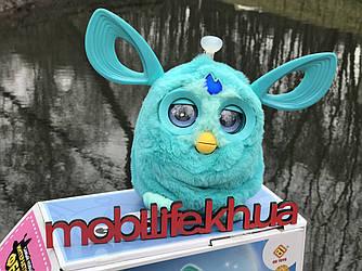 Велика м'яка Мовець Іграшка Ферби /Коннект Furby/Українська Мова/Висока Якість!Синій/
