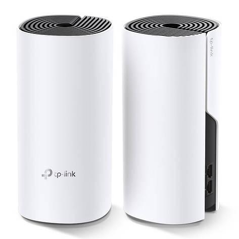 WiFi Mesh система TP-Link DECO M4 2-pack (AC1200, 2xGE, 2шт, MESH), фото 2