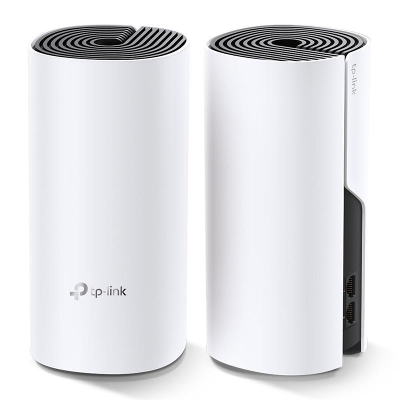 WiFi Mesh система TP-Link DECO M4 2-pack (AC1200, 2xGE, 2шт, MESH)