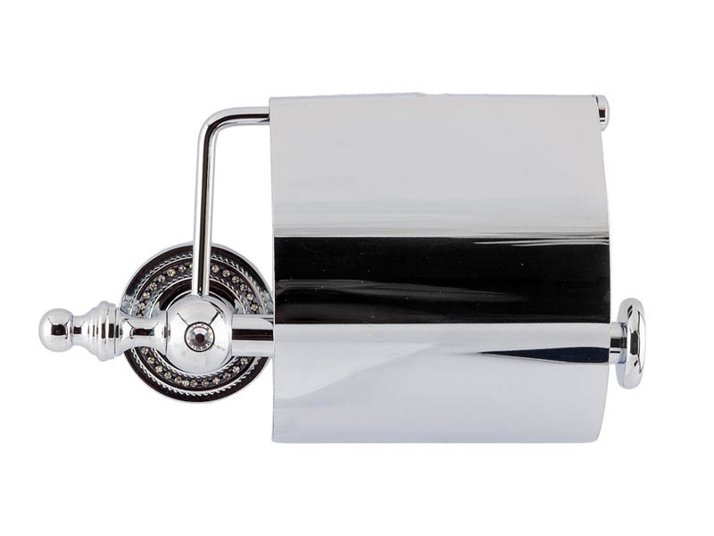 Держатель для туалетной бумаги KUGU Eldorado 811С (латунь, хром)(Бесплатная доставка  )