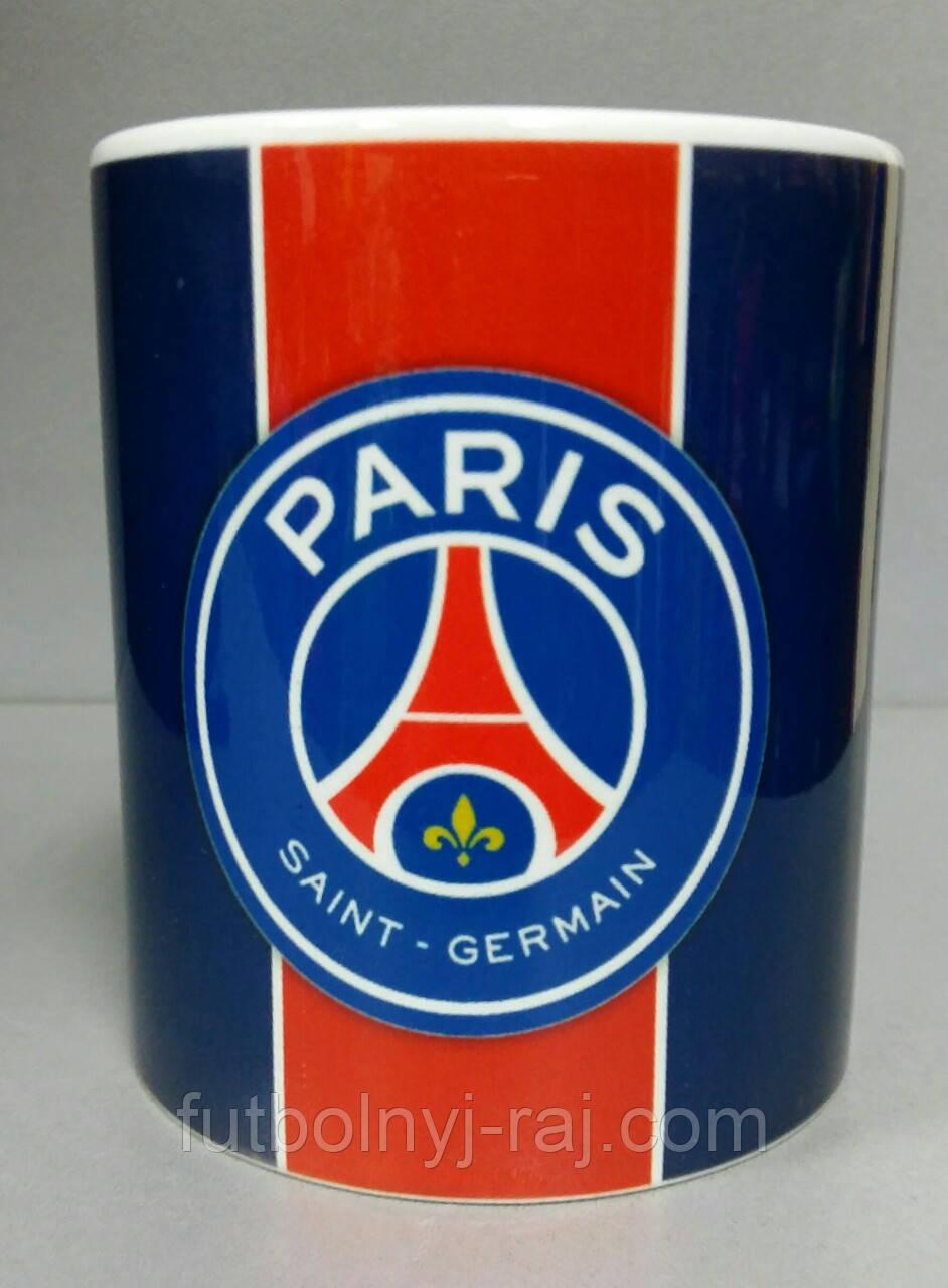 Футбольна Чашка чайна з зображенням символіка FC Paris Saint-Germain (ПСЖ)