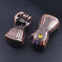 """Открывашка для бутылок """"Перчатка бесконечности Таноса"""" """"Мстители"""" Марвел (Avengers Marvel)"""