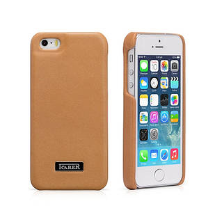 Чехол iCarer для iPhone 5/5S/5SE Luxury Brown (RIP516Br)