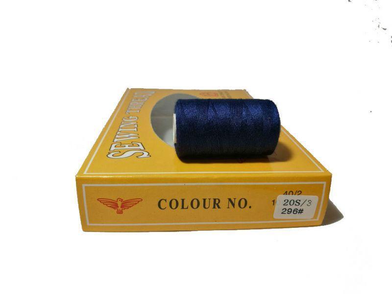 Нитка джинсовая № 296 упаковка 12 шт