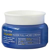 Увлажняющий крем для лица с коллагеном Farm Stay Collagen Water Full Moist Cream, 100 мл