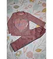 Детский костюмчик Париж, очень красивый, розовый