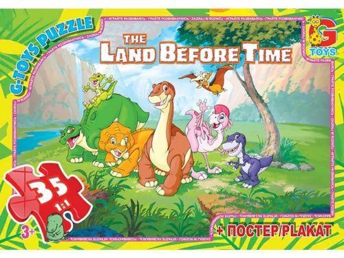 "Пазлы ""Хороший динозавр: друзья"", 35 эл  sco"