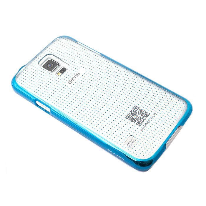 Чехол Devia для Samsung Galaxy S5 Glimmer Spot Blue