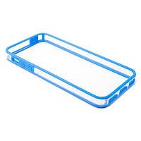 Бампер Devia для iPhone 5/5S/5SE Crystal Blue