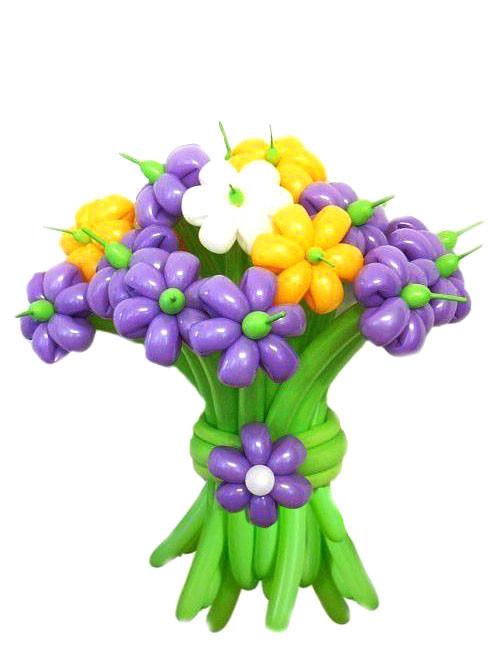 шарики для моделирования цветные