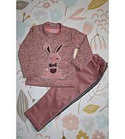 Детский костюмчик Зайка, очень милый, розовый
