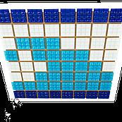 Фриз Хвиля зі скляної мозаїки Aquaviva U-37 для басейну, лазні, СПА