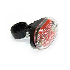 Велофара фонарь на велосипед фара велосипедная задняя мигалка 5LED HLV J-RT08 Red