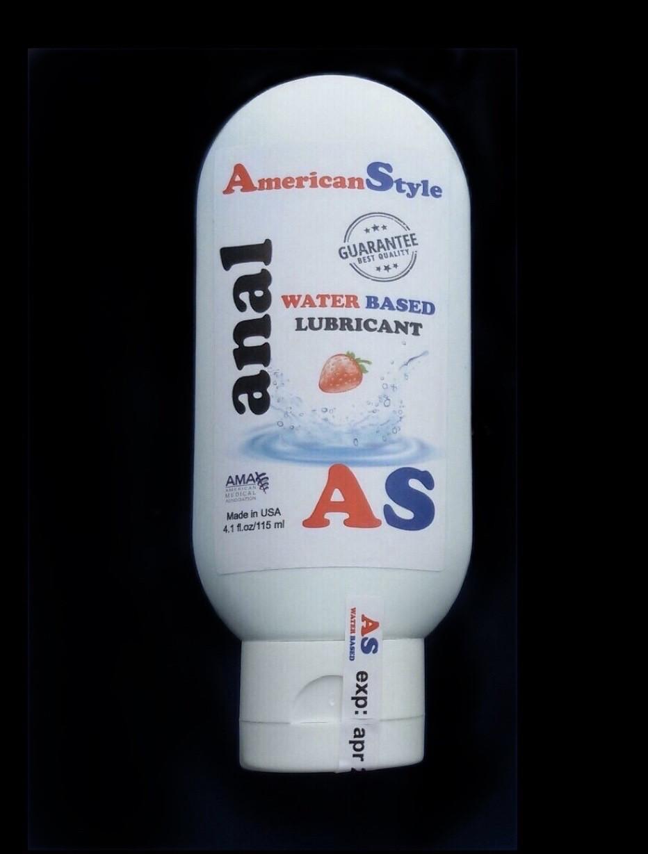 Лубрикант для анального секса с анестетиком American Style клубника 115 мл