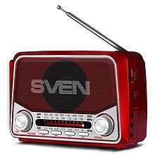 Радіоприймач Sven SRP-525 Red