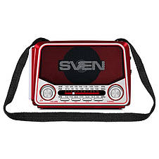 Радиоприемник Sven SRP-525 Red, фото 2