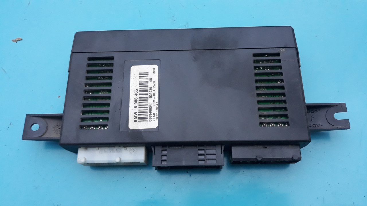 Блок управления освещением света бмв е38 е39 е53 BMW E38 E39 E53 LCMIII lcm3 6908465 61356908465