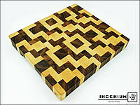 """Торцова кухонна дошка """"Лабіринт"""" від """"Ingenium"""", фото 1"""