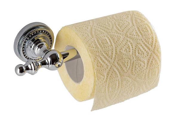 Держатель для туалетной бумаги KUGU Eldorado 812С (латунь, хром)(Бесплатная доставка  ), фото 2