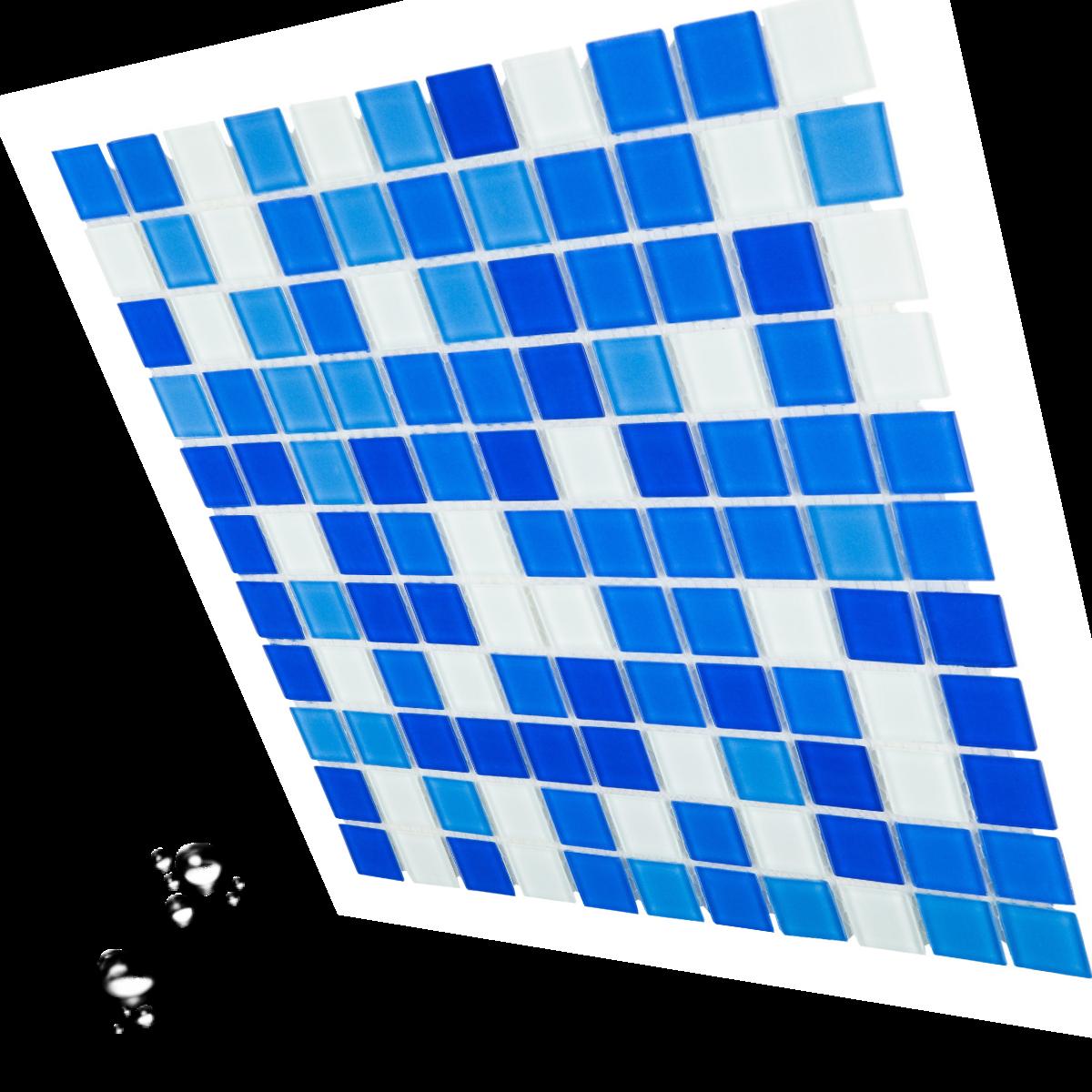 Мозаика стеклянная Aquaviva Cristall Bagama Light DCM178/304 для бассейна бани СПА