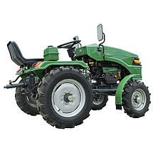 Трактор минитрактор дизельный ДТЗ 160 Синий ( 16 л.с.), фото 3