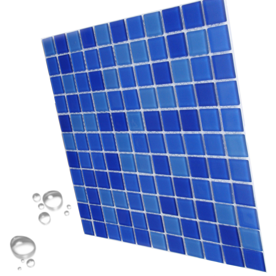 Мозаика стеклянная Aquaviva Cristall Jamaika Light для бассейна