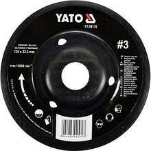 Диск-фреза шлифовальный по дереву/гипсу 25 Х 22.2 мм YATO YT-59170 (Польша)