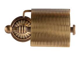 Держатель для туалетной бумаги KUGU Hestia antique 911A (латунь, бронза)(Бесплатная доставка  ), фото 3